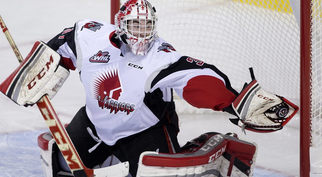 WHL: Roundup - Point Scores 4, Warriors Top Raiders