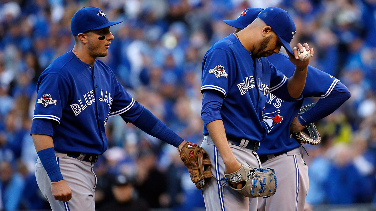 28c959f20cd80 Blue Jays left stunned by Royals in Game 2 of ALCS - Sportsnet.ca