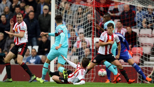 ไฮไลท์  Sunderland 2 - 2 West Ham United