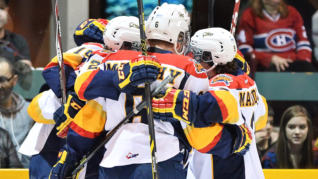 OHL: Sambrook Strikes Twice To Lift Otters Past Rangers