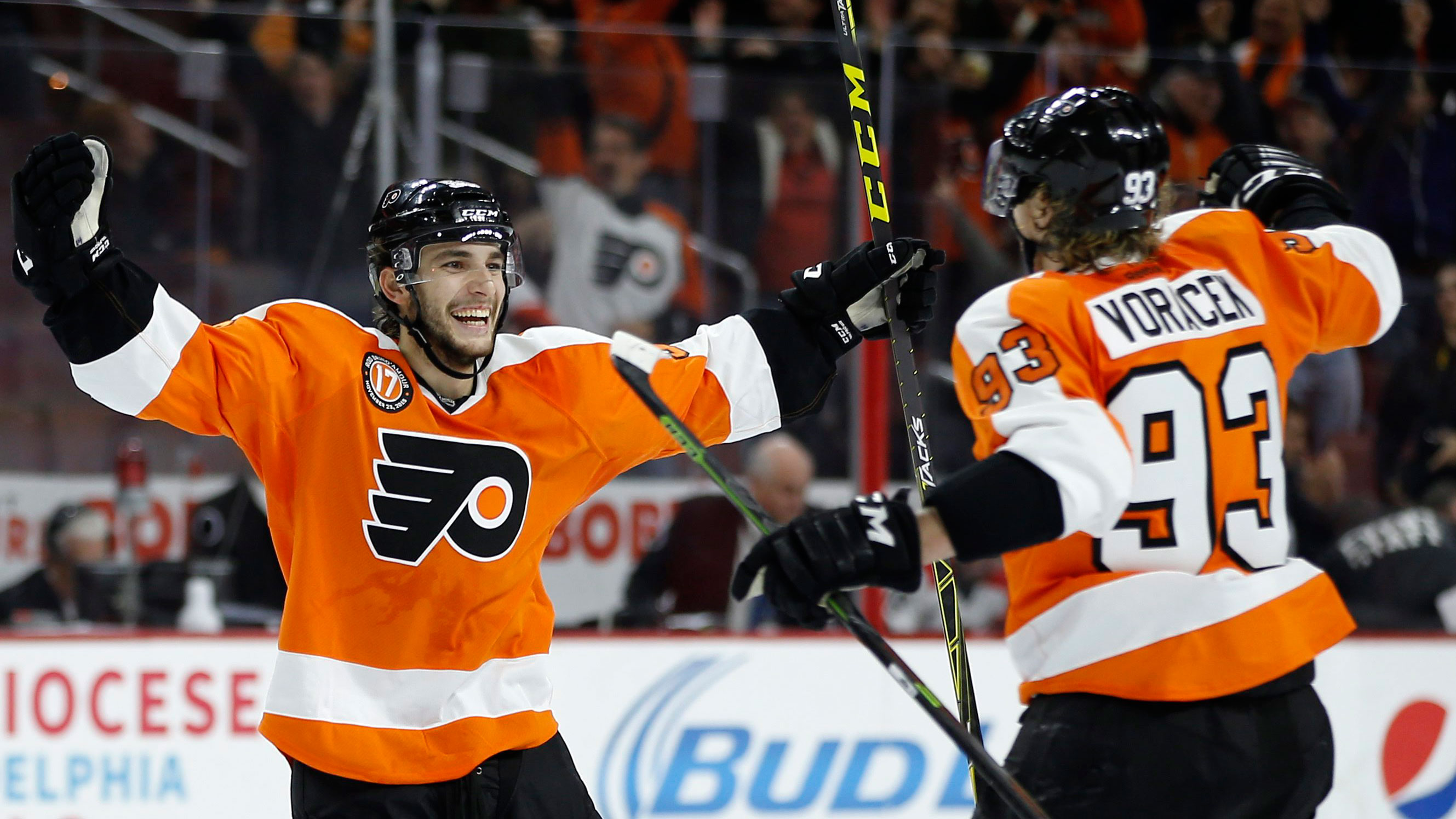 Five Things We Learned In The NHL: Gostisbehere's Hot Streak