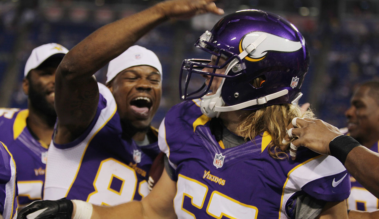 Vikings Place LB Audie Cole On IR With Broken Ankle Sportsnetca - Audie cole