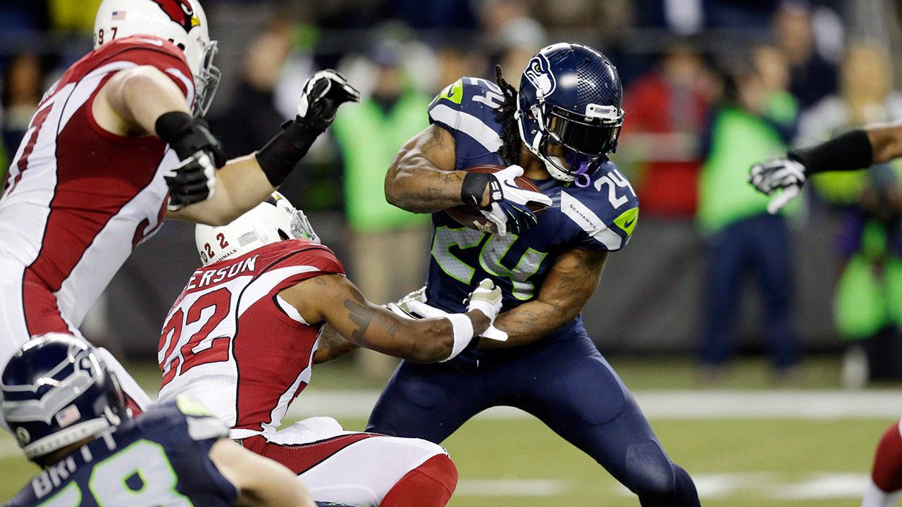 Seahawks RB Marshawn Lynch (Stephen Brashear/AP)