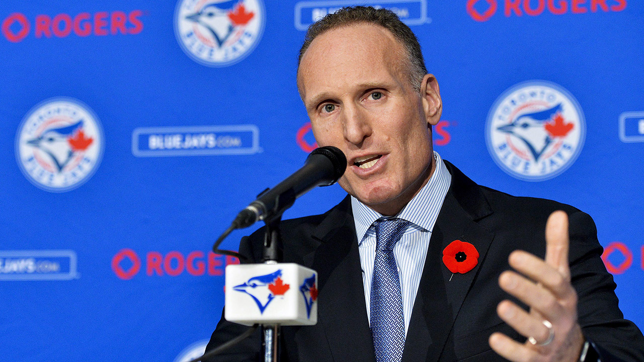 New Toronto Blue Jays president and chief executive officer Mark Shapiro. (Nathan Denette/CP)