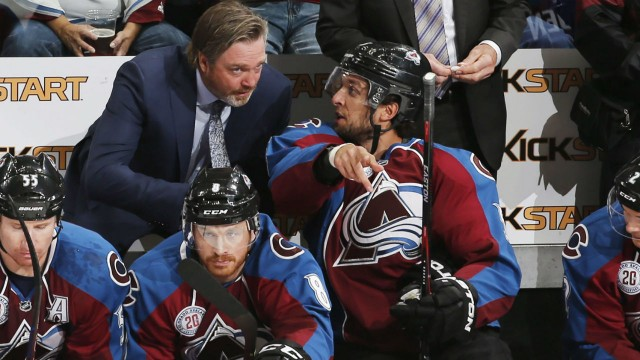 Roy, Avalanche Stubbornly Sticking To Their Own Game