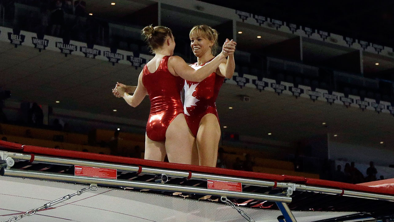 Canada S Women S Team Wins Gold In Trampoline Sportsnet Ca