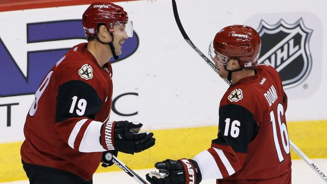 Domi Does It Again As Coyotes Spill Oilers