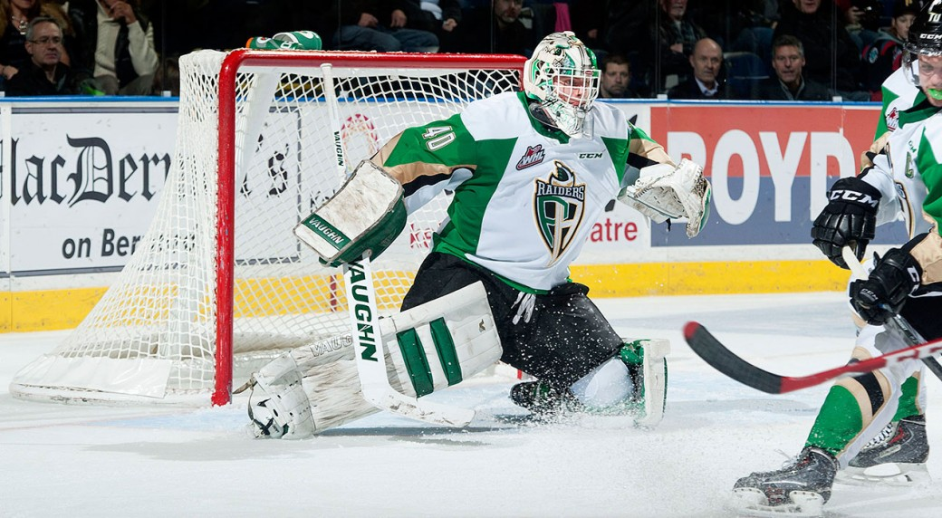 WHL: Cougars Acquire Goaltender McBride From Raiders