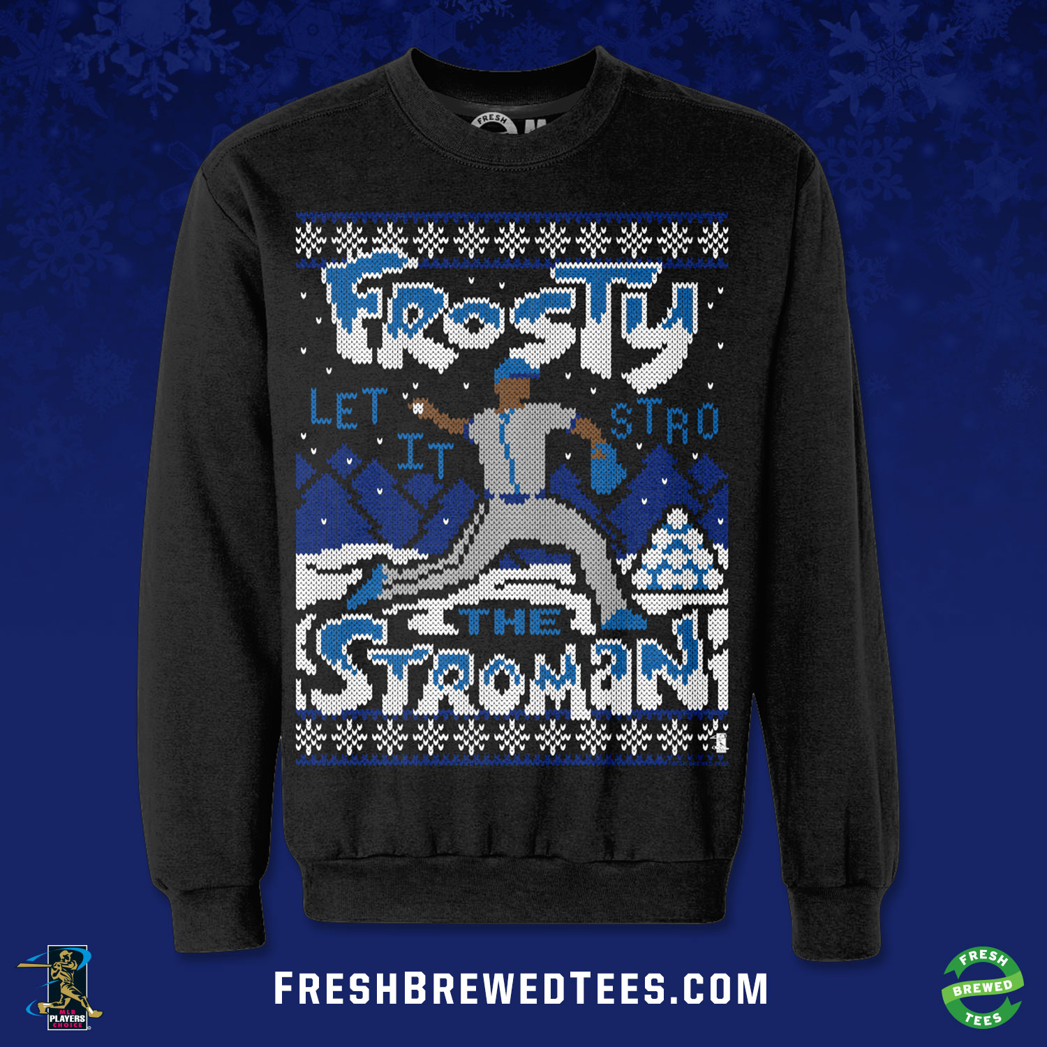 Frosty the Stroman: Blue Jays star gets epic Christmas sweater ...