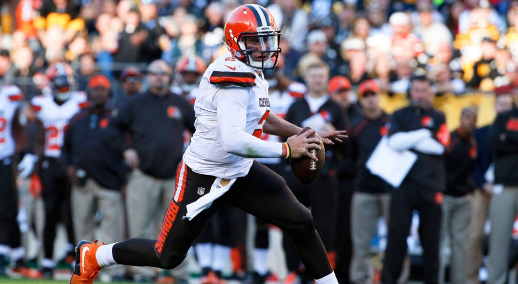 Browns give starting QB job back to Manziel