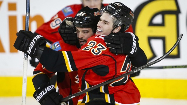 Monahan Scores Twice Against Sabres, Flames Win 8th Straight At Home