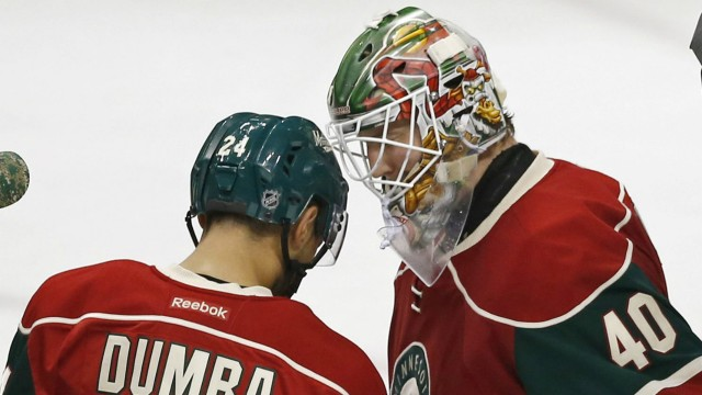 Dubnyk Makes 28 Saves, Wild Shut Out Maple Leafs
