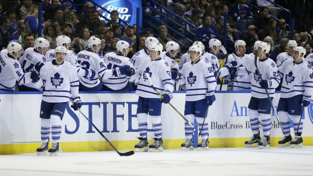 Kadri Scores Twice As Maple Leafs Beat Blues