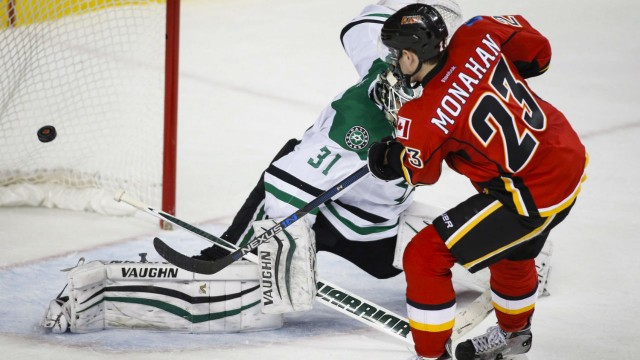Flames Storm Back In 3rd Period To Deflate Stars