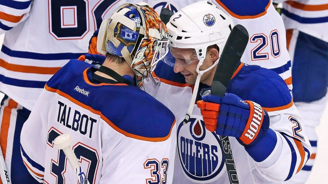 Oilers Beat Bruins In OT For Sixth Straight Win