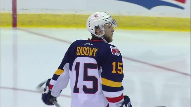OHL: Sadowy Strikes Twice As Colts Knock Off Steelheads
