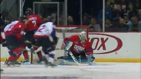 QMJHL: Fitzpatrick Shut The Door While In Net For Team Cherry