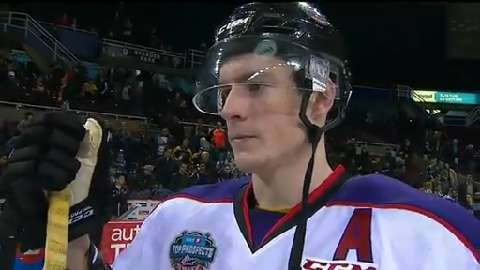 CHL: Dubois Had The Inside Scoop Playing With Laberge