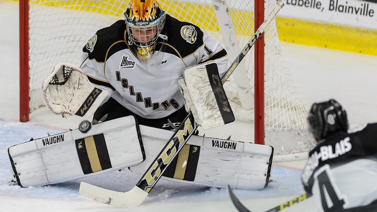 Mason McDonald; Charlottetown Islanders; QMJHL; CHL; 2014 NHL Draft; Calgary Flames; Sportsnet; QMJHL Playoffs