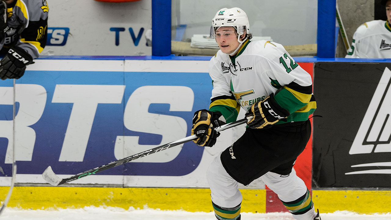 Julien Gauthier; Val-d'Or Foreurs; QMJHL; 2016 NHL Draft; QMJHL Playoffs; Sportsnet
