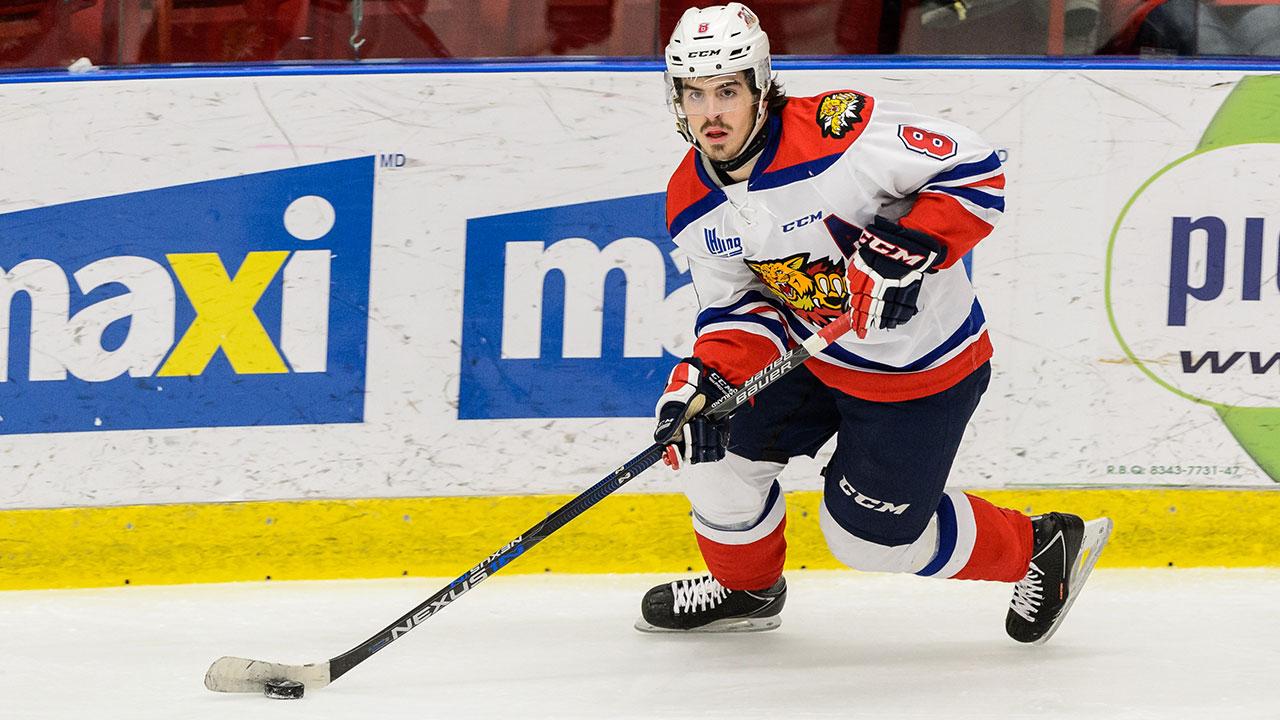 Conor Garland; Moncton Wildcats; QMJHL; CHL; Phoenix Coyotes; 2015 NHL Draft; QMJHL Playoffs