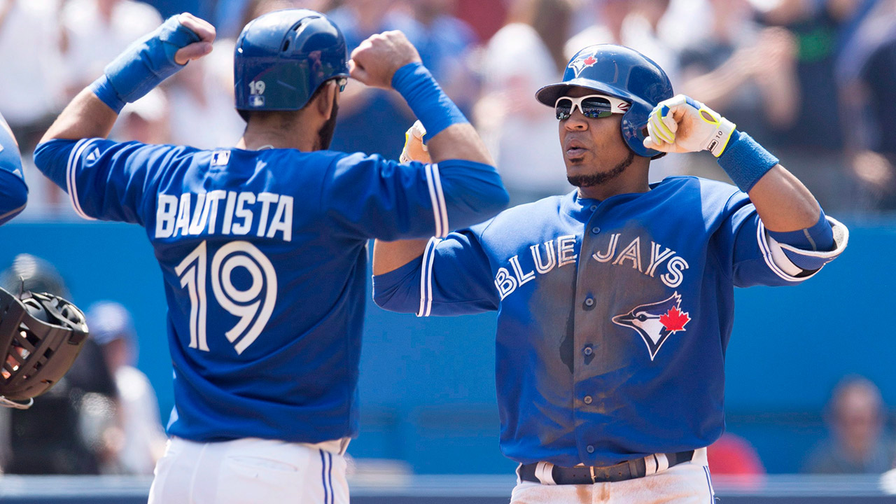 Edwin Encarnacion; Jose Bautista; Toronto Blue Jays; MLB