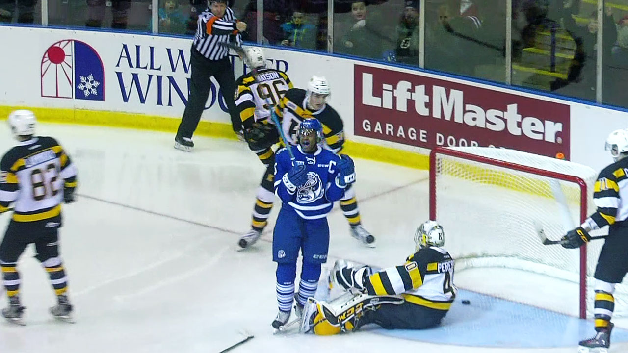 OHL: Nylander Scores 24th, Steelheads Double-up Fronts
