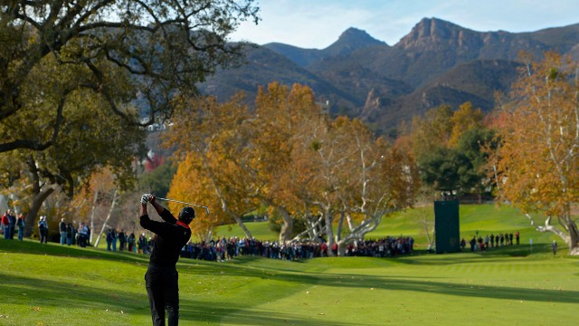 ... Cup playoffs at Sherwood Country Club in Thousand Oaks, California