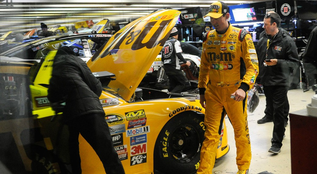 Kyle Busch turns fastest lap at Pocono for 2nd straight pole