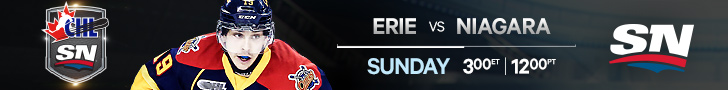 Sunday CHL on Sportsnet; Erie Otters; Niagara IceDogs; OHL; Dylan Strome
