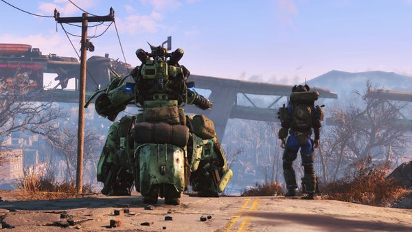 Create and customize your own robot companion in Fallout 4's upcoming DLC. Image courtesy: Bethesda