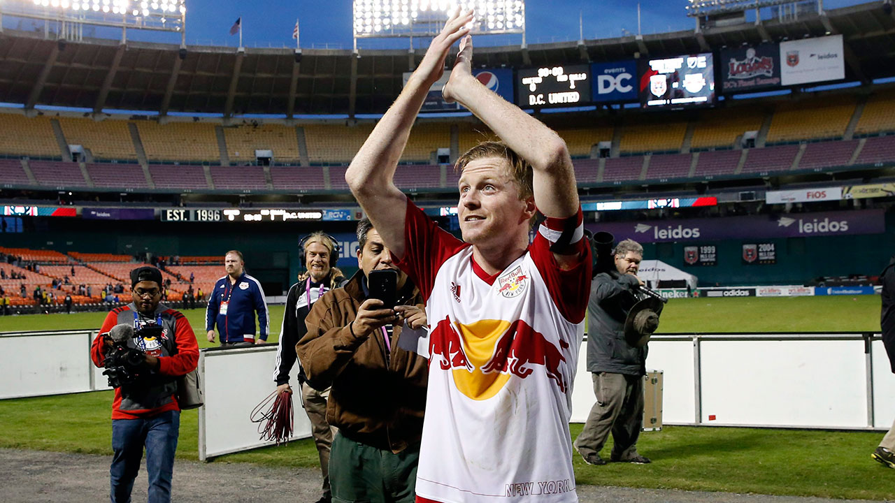 Dax McCarty: The New York Red Bulls captain was one of MLS' best deep-lying midfielders in 2015. McCarty is the engine of the midfield. Everything runs through him, so if the Red Bulls want to claim that elusive MLS Cup, they need the American to dominate again in 2016. (Alex Brandon/AP)