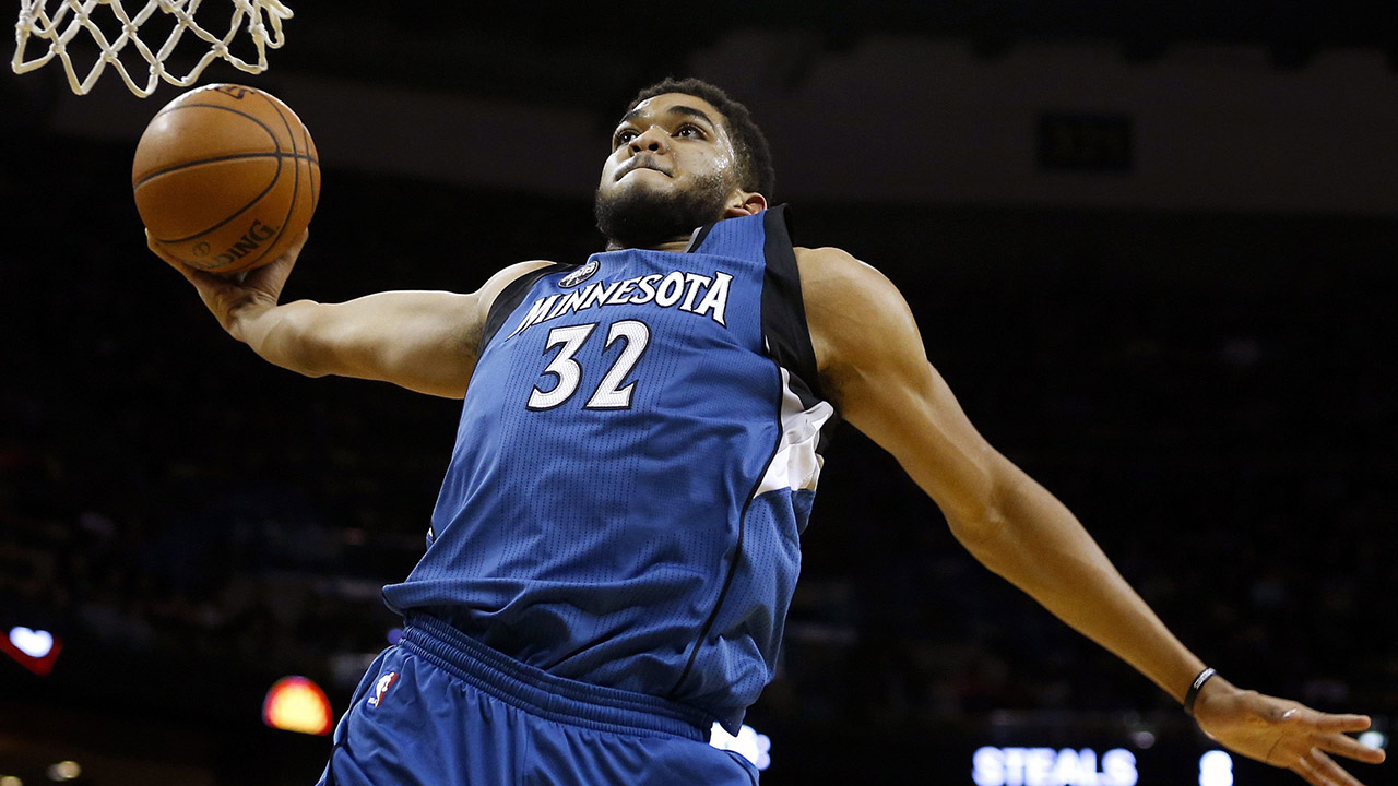 AP Source: Karl-Anthony Towns is NBA Rookie of the Year ...