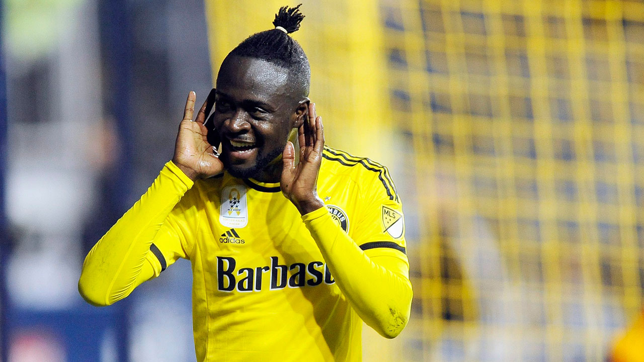 Kei Kamara: If it wasn't for Sebastian Giovinco's historic 2015, Kamara would have likely been named MLS MVP. The Sierra Leone international scored 22 goals and guided the Columbus Crew to the MLS Cup final. Now the 31-year-old will try to build on that form and try to claim the holy grail in 2016. (Michael Perez/AP)