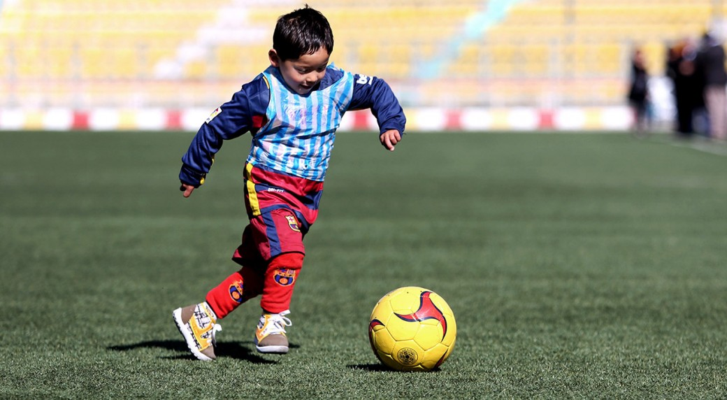 27782becd Five-year-old Afghan fan to meet Lionel Messi - Sportsnet.ca