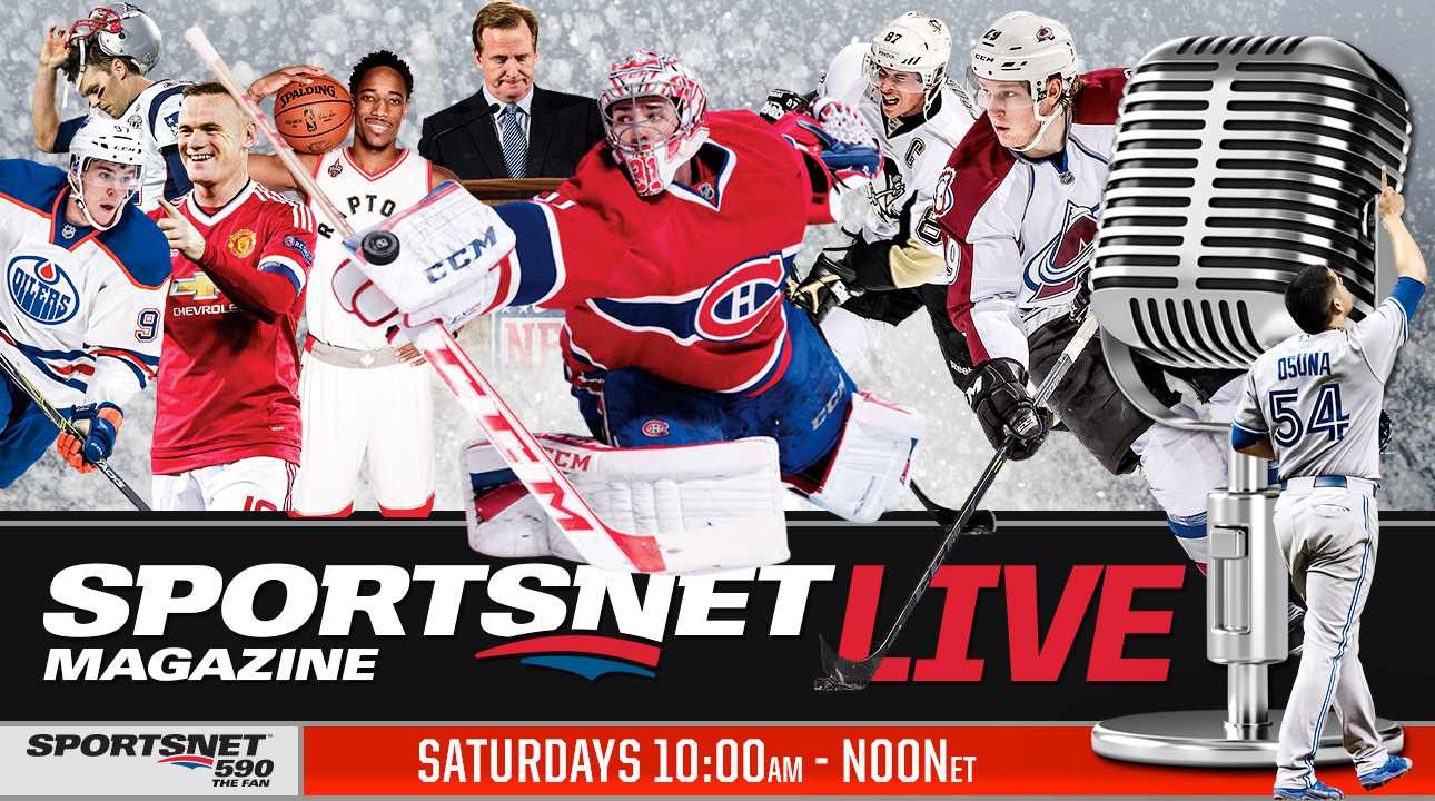 NHL; MLB; NBA; MLS; NFL; CFL; Sportsnet; Toronto Maple Leafs; Toronto Blue Jays; Toronto Raptors; TFC; Sportsnet 590 The FAN