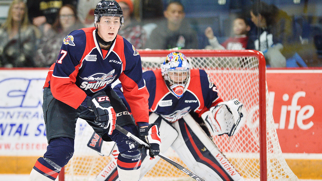 Windsor Spitfires; OHL; CHL; OHL Playoffs; Sportsnet; 2016 NHL Draft