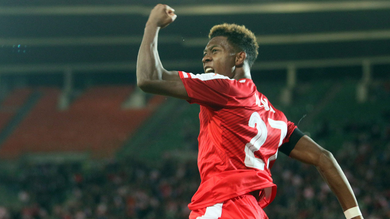 David Alaba - Bayern Munich: The 23-year-old Austrian player of the year works from left-back for for Munich, but what makes Alaba so dangerous is his versatility. He's a threat from all over the field.