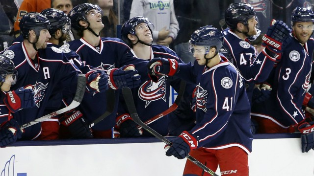 Atkinson, Wennberg score in SO as Blue Jackets defeat ...