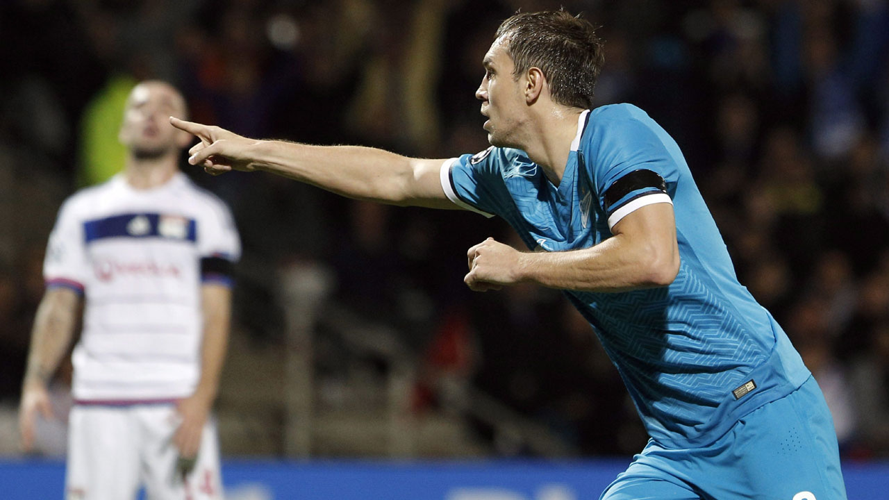 Artyom Dzyuba - Zenit St. Petersburg: The tournament's third-leading scorer, Dzyuba accounted for six of Zenit's 13 group-stage goals and was key to their first place Group H finish.