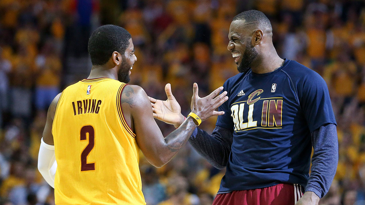 Kyrie Irving has become one of the greatest sidekicks in Finals history playing alongside Le Bron James