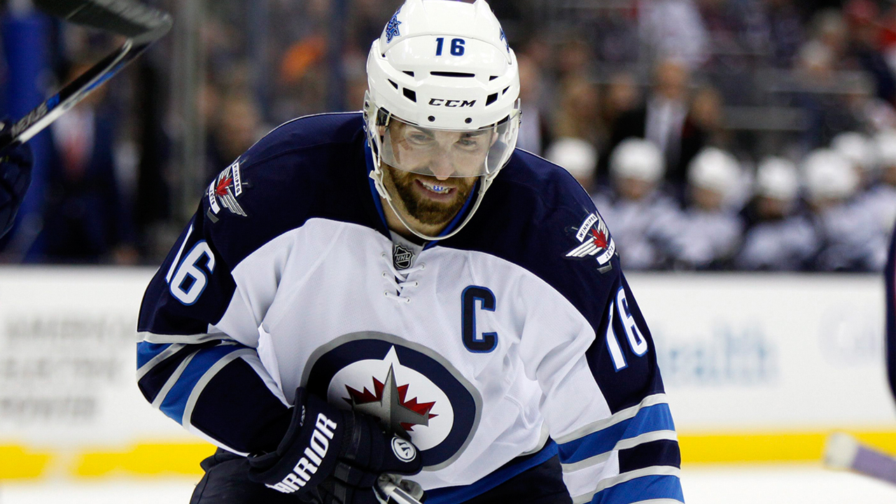 Andrew Ladd of the Winnipeg Jets.