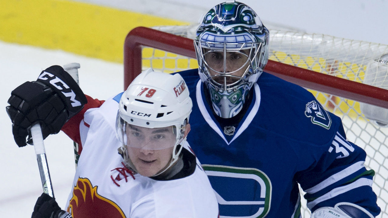 Flames Pull Away In 3rd, Hang On To Beat Canucks