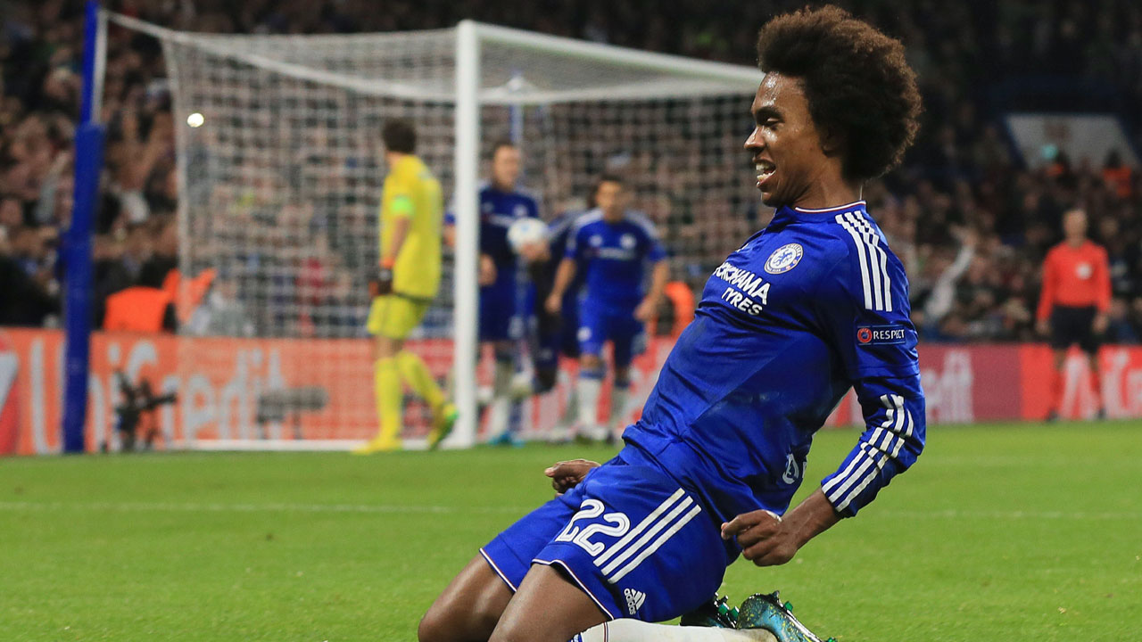 Willian - Chelsea: Chelsea have had a tough go of it domestically, but still have life on the biggest stage. With five goals in the group stage, Willian has been the key to the Blues' Champions League success. His scoring will be needed against a PSG squad that has surrendered just one goal all tournament.