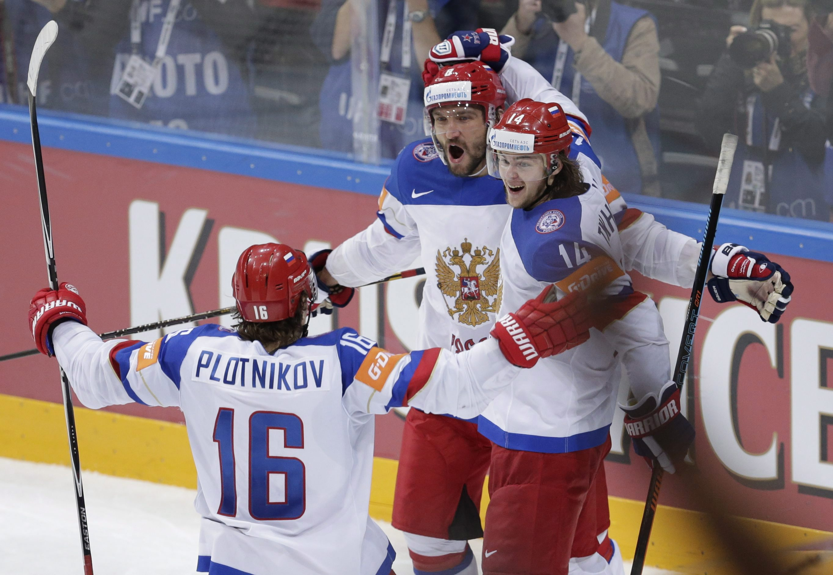 Team Russia Names Preliminary World Cup Of Hockey Roster