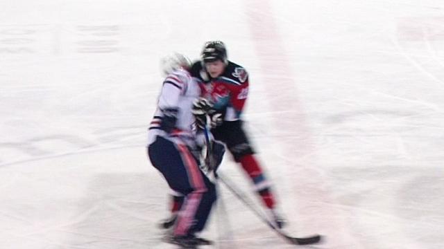 WHL: Huge Hit Sparks Junior Hockey Fight