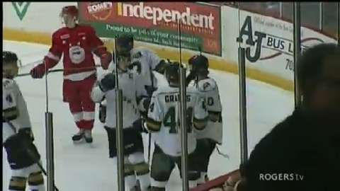 OHL: Knights Edge Greyhounds