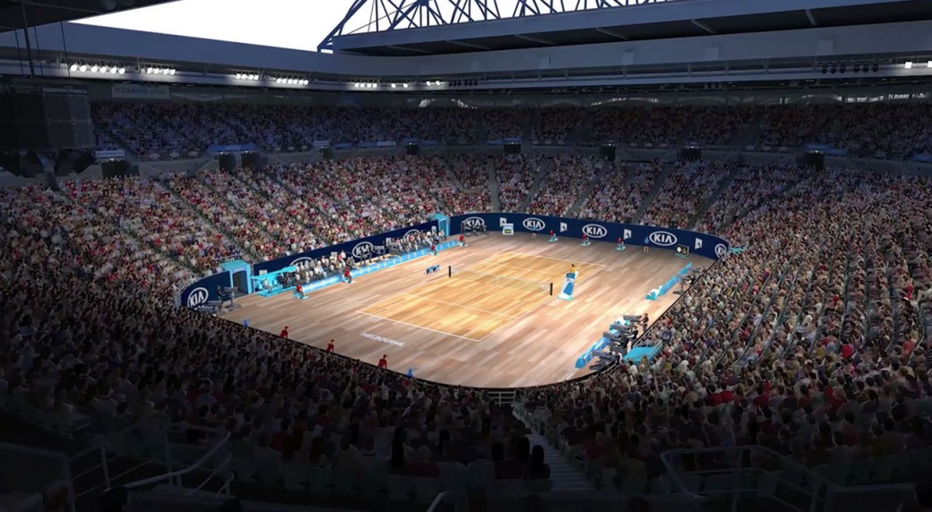 Aussie Open Kicks Off April Fool S Day With Timber Court Mockup