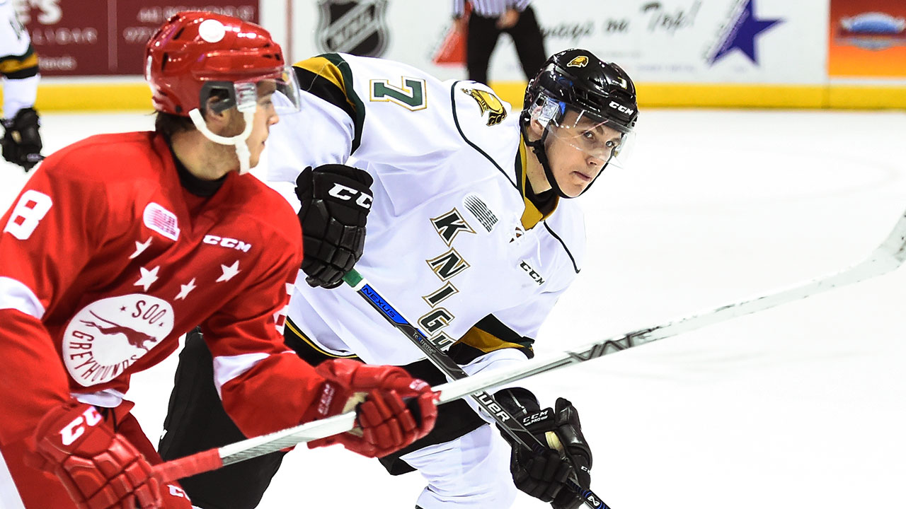 OHL: Knights Star Tkachuk Was Raised To Be An NHLer