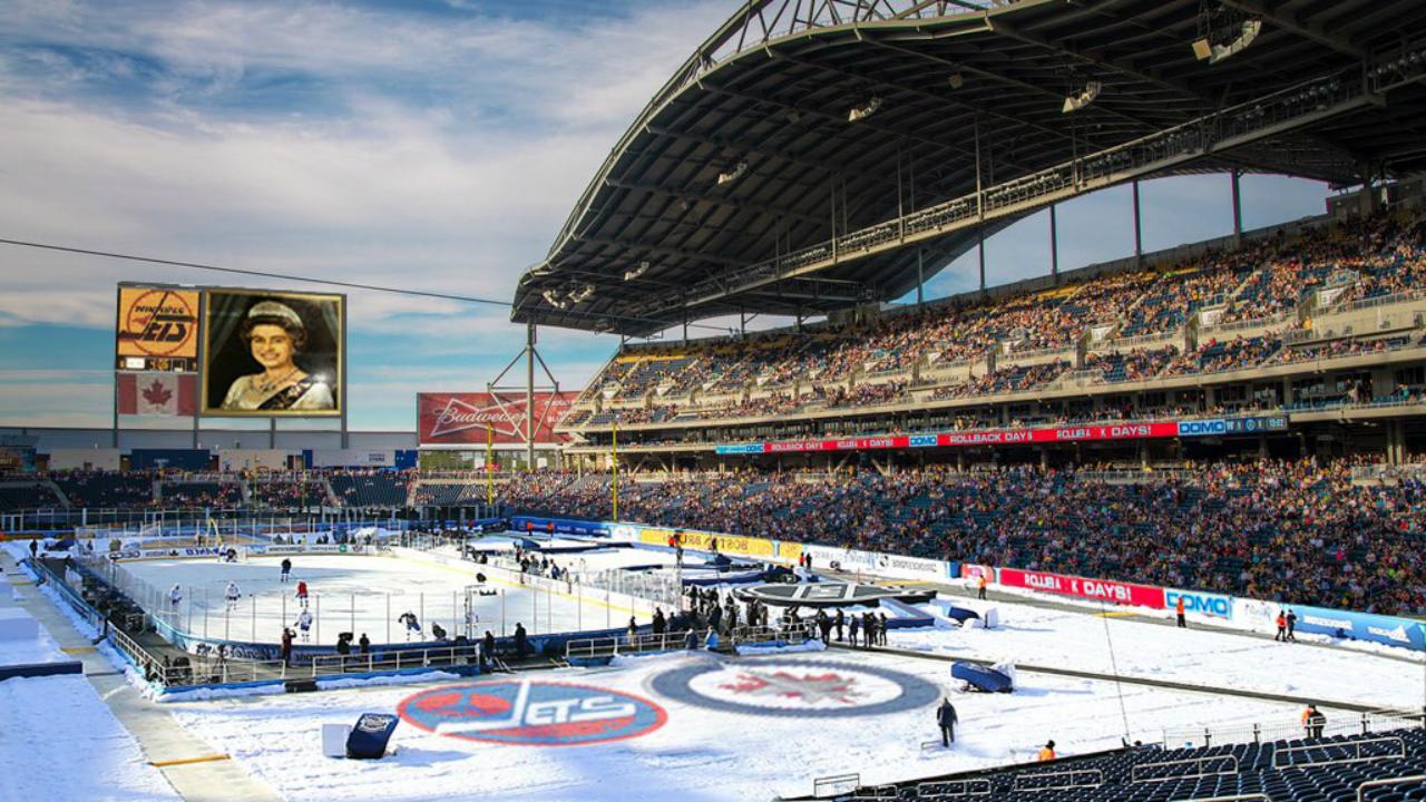 Winnipeg Jets Release Artist's Rendering Of 2016 Heritage Classic
